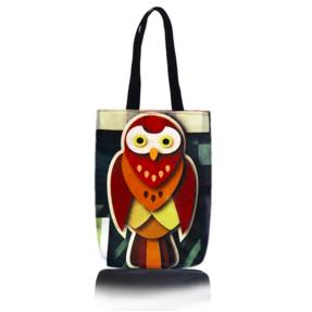 Shop Bag - Cubist Owl