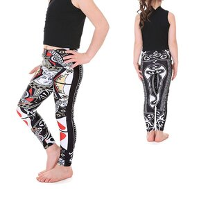 Leggings lányoknak Princess Of Hearts