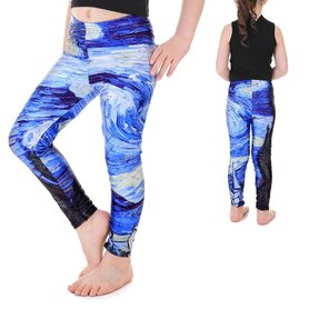 Leggings lányoknak Starry Night