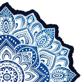 Mandala Blanket AzureCoast