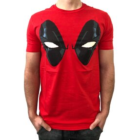 T-Shirt Deadpool Eyes Red