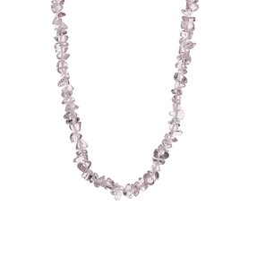 Halskette Kristall feinkörnig - Stein der positiven Energie