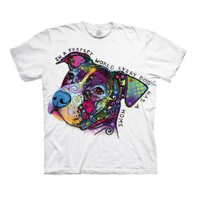 Bílé tričko Russo Dokonalý svět pro psy
