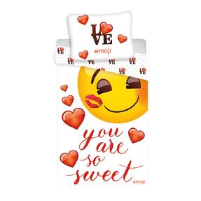 Photo Bedding Emoji Love