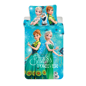 Photo Bedding Frozen Sisters – Anna and Elsa