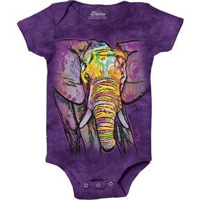 Russo Elephant Babygrow