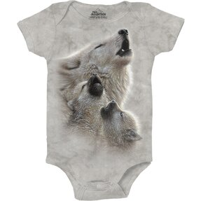 Singing Lesson Wolves Babygrow