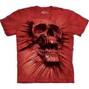 T-Shirt Schädelabdruck