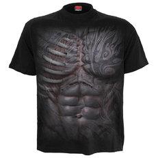 Fekete póló Férfi test