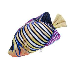 Vankúš Regal angelfish - 32 cm