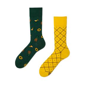 Lustige Socken Ananas