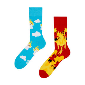 Good Mood Socks - Angel & Devil