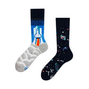 Veselé ponožky Cesta do vesmíru