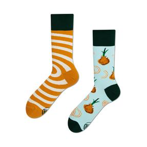 Lustige Socken Zwiebelringe
