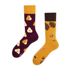 Funny Socks Autumn and Peas