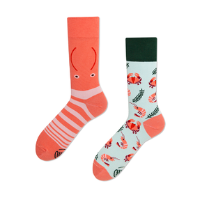 Funny Socks - Crabs and Shrimps