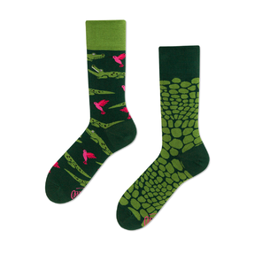 Funny Socks - Crocodile