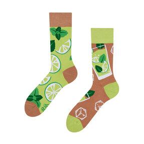 Lustige Socken Mojito