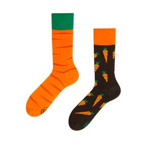 Lustige Socken Möhre