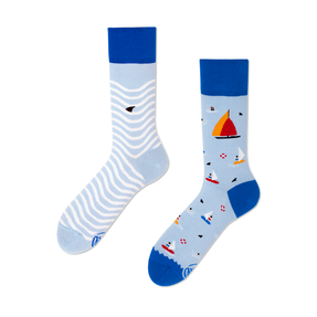 Funny Socks - Sailing Boat