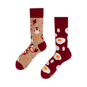 Veselé ponožky Slepice a vejce