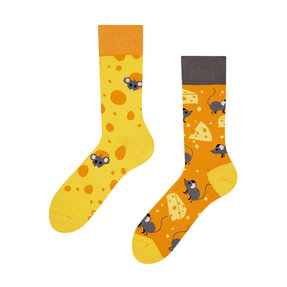 Good Mood Socks - Cheese