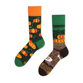 Veselé ponožky Tekvice