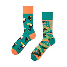 Lustige Socken Tukan