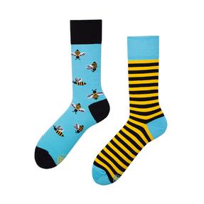 Lustige Socken Bienen