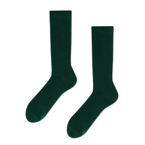Veselé ponožky Zelený smaragd