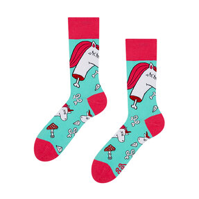 Good Mood Socks - Zombie Unicorn