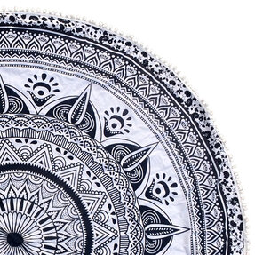 Mandala Anti-stress Colouring Blanket