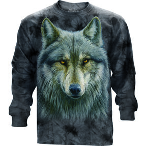 Long-sleeved T-shirt Cursed Wolf