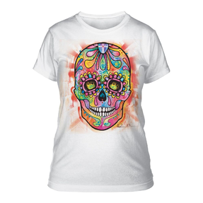 Dámske biele tričko Russo Lebka