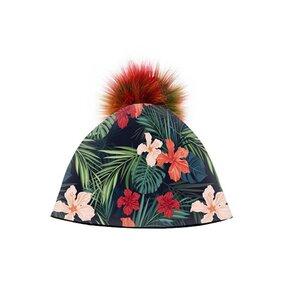 Téli sapka Hawai virágok e598d06670