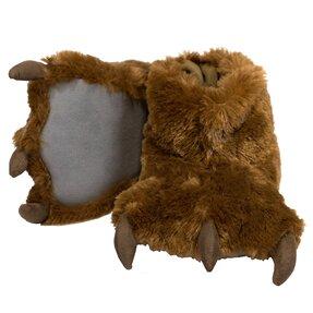 Pantoffel Pfoten des braunen Bären