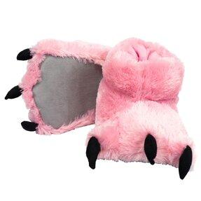 Pantoffel Pfoten des rosa Bären