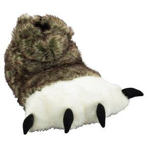 Pantoffel Pfoten des Wolfes