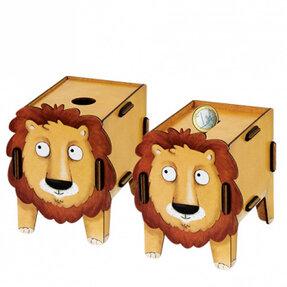 Šikovná krabička - Lev
