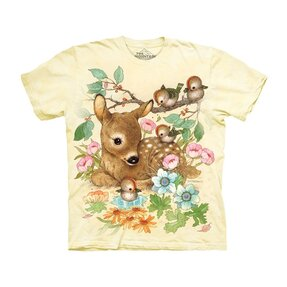 Kinder T-Shirt Kleines Reh