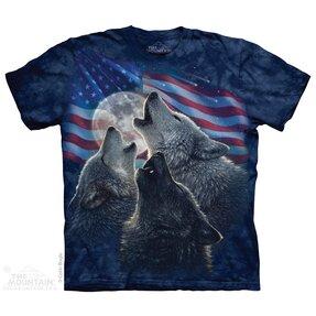 T-Shirt Trio Amerikanischer Wölfe