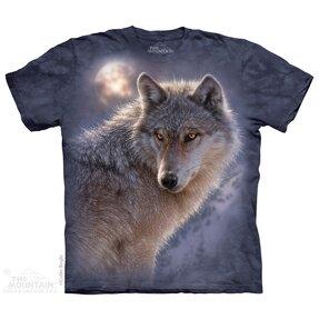 T-Shirt Abenteuerlicher Wolf