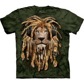Raszta oroszlán póló