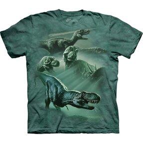 Tričko Koláž Tyranosaurů - dětské