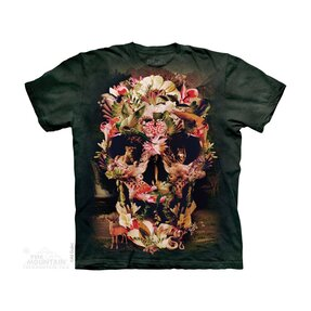 Kinder T-Shirt Dschungelschädel