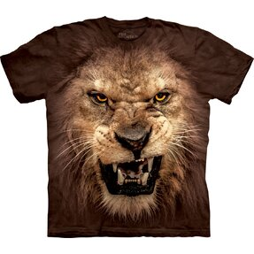 Big Face Roaring Lion Child