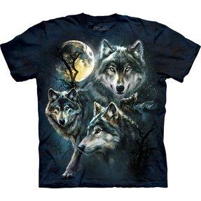 Tričko Měsíční vlci - dětské