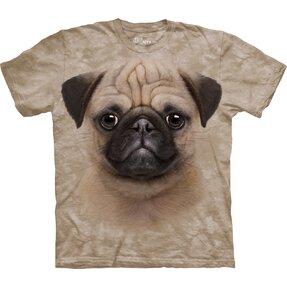 Kinder T-Shirt Mops Welpe