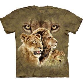 Kinder T-Shirt Finde 10 Löwen