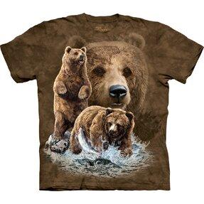 Kinder T-Shirt Finde 10 Bären